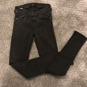 Size 25 dark olive citizens of humanity jean!